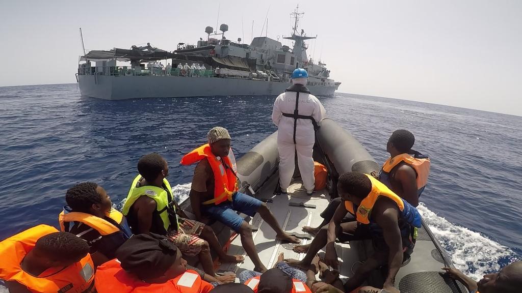 Libyan migrant torture