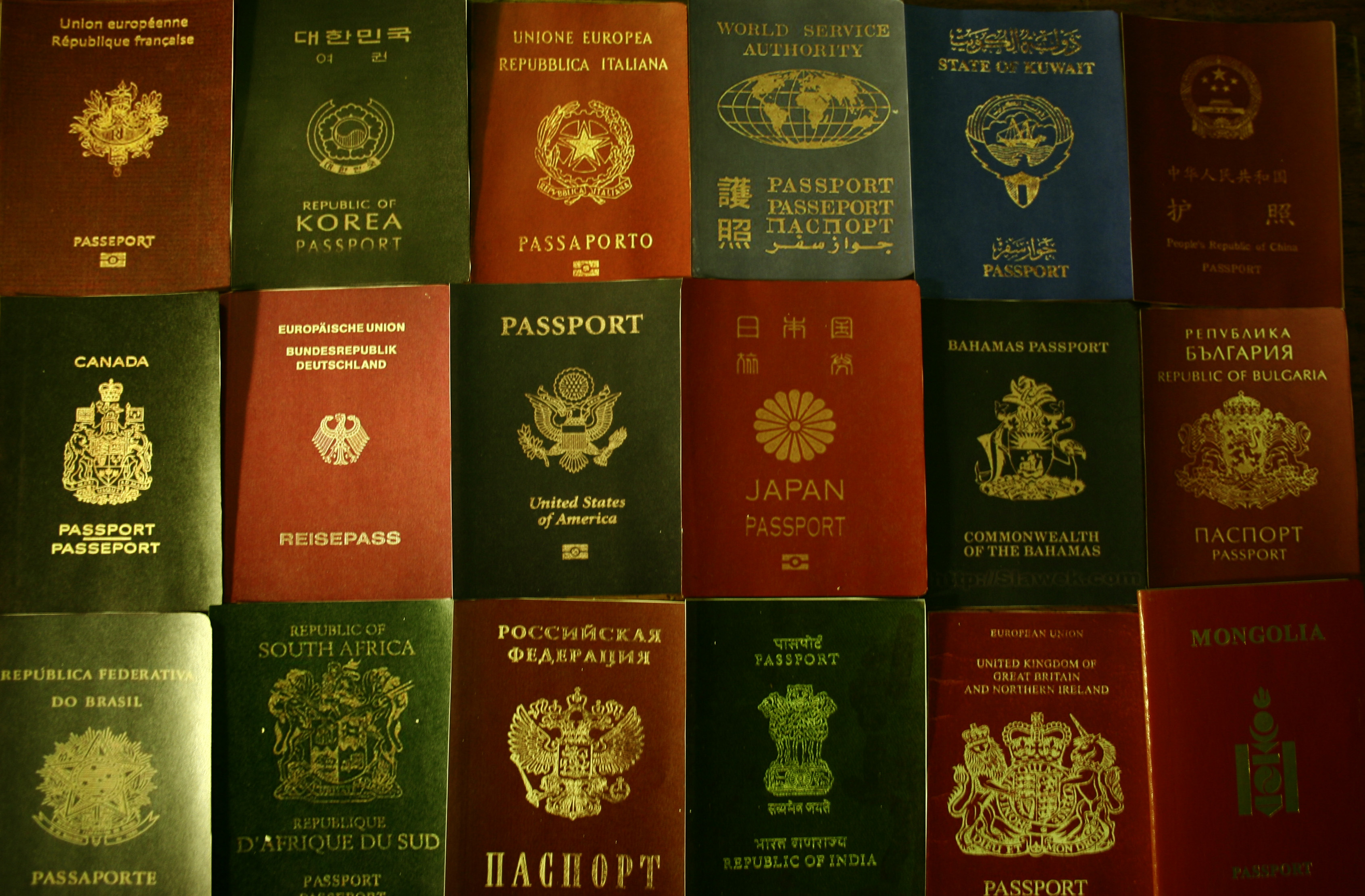 eastern European fake passport gang