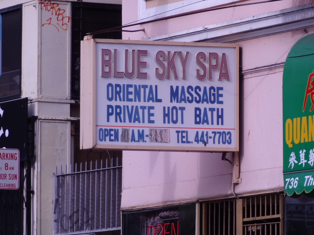 Illicit US massage parlours
