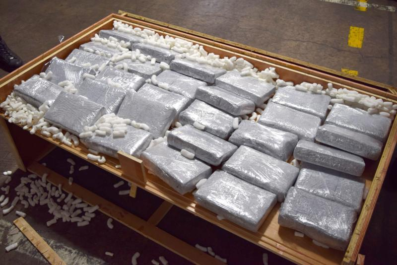 cocaine worth $22 million