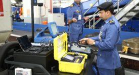 Customs officers in Dubai