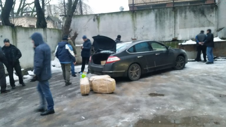 cocaine consignment discovered at Russian embassy