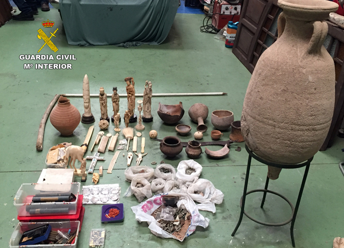 stolen cultural artefacts recovered