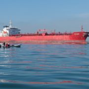 Libyan navy intercepts oil tanker