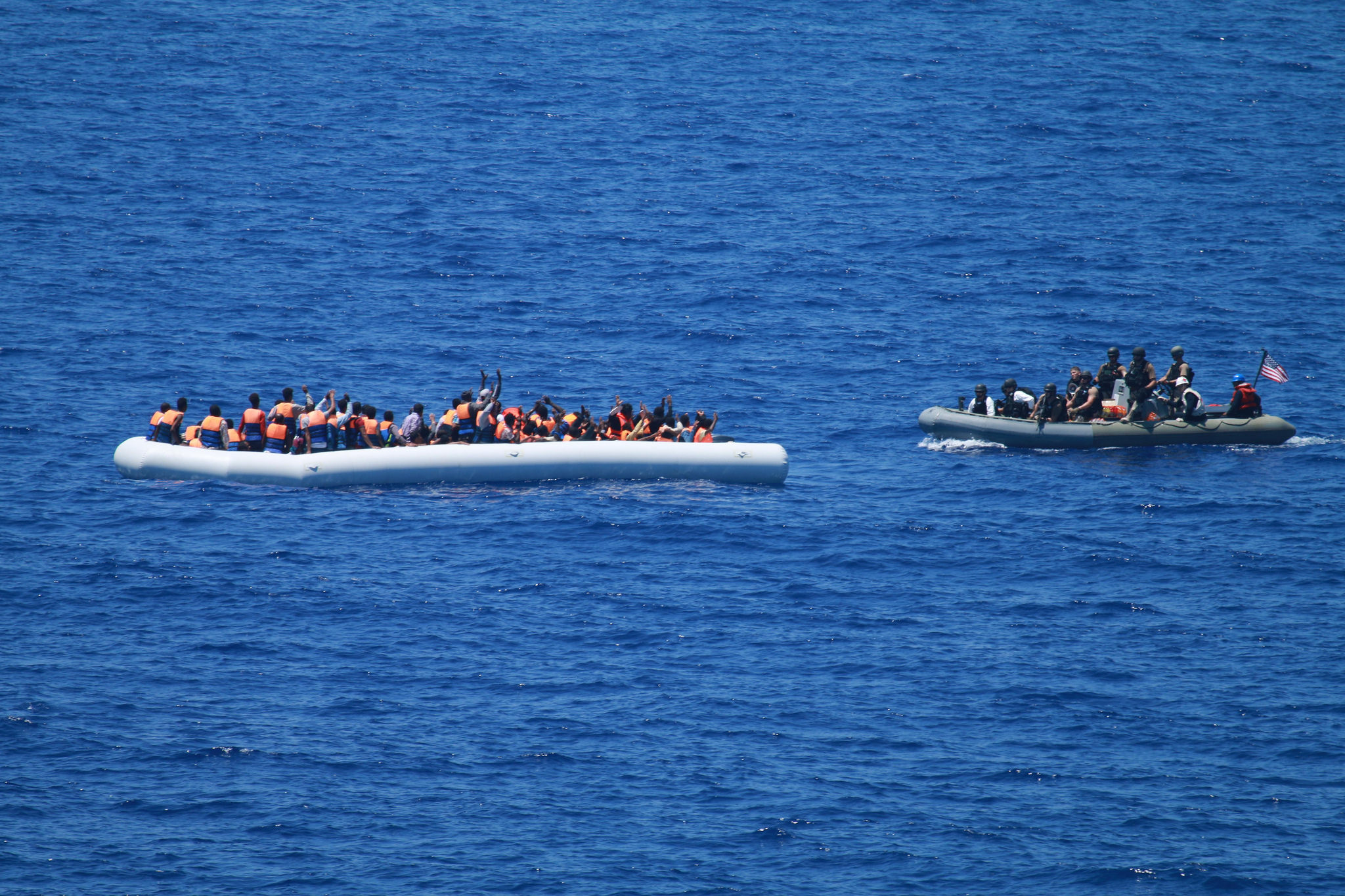 six Libyan human traffickers