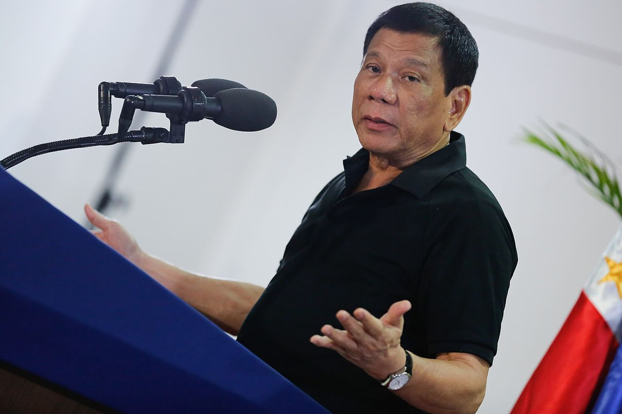 President Duterte vows to continue war on drugs