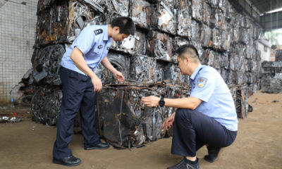 suspected steel smugglers arrested
