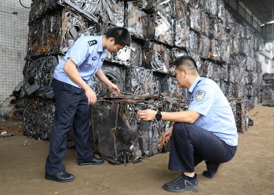 suspected steel smugglers arrested