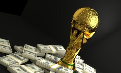 fake World Cup trophies