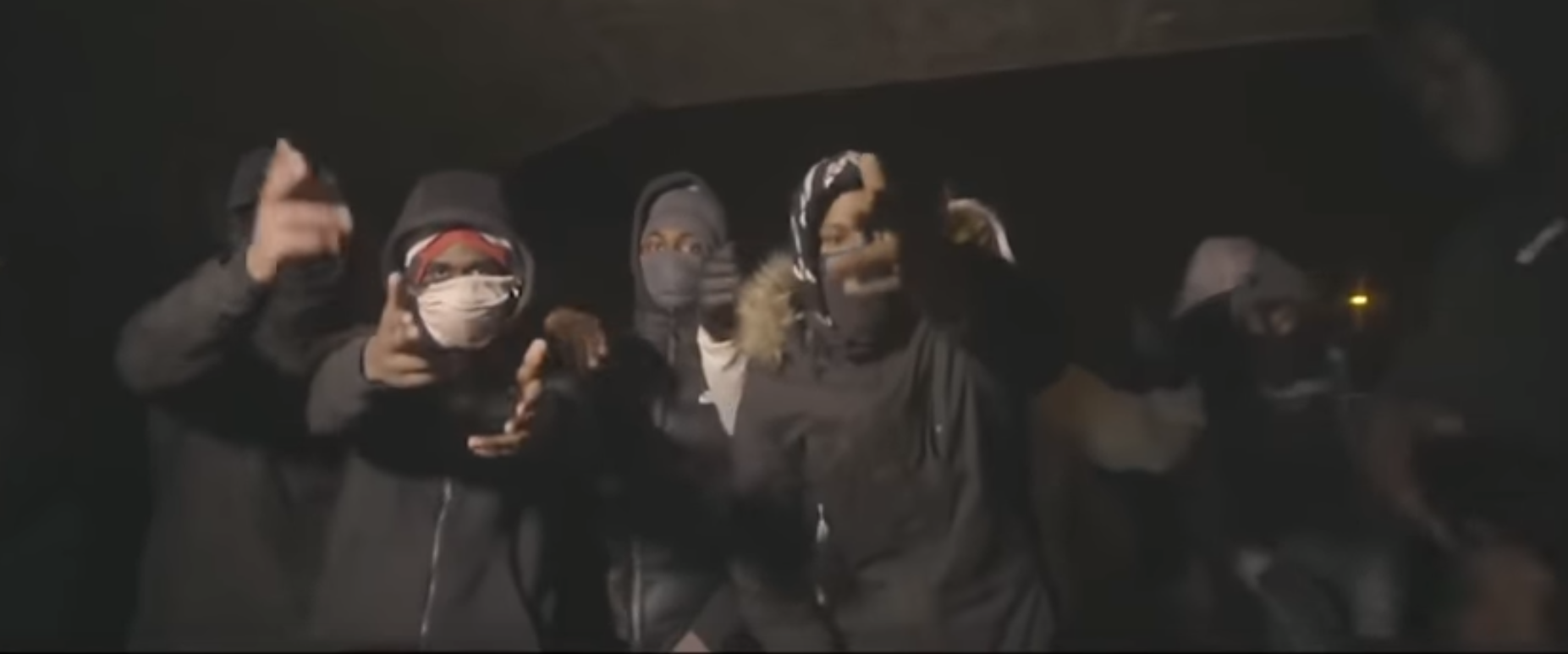 violent UK drill rap videos