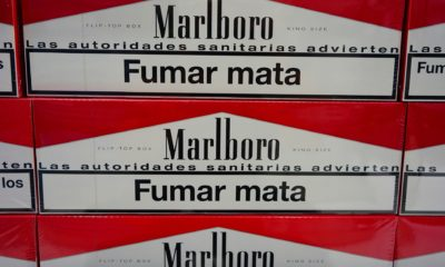 39 million cigarettes