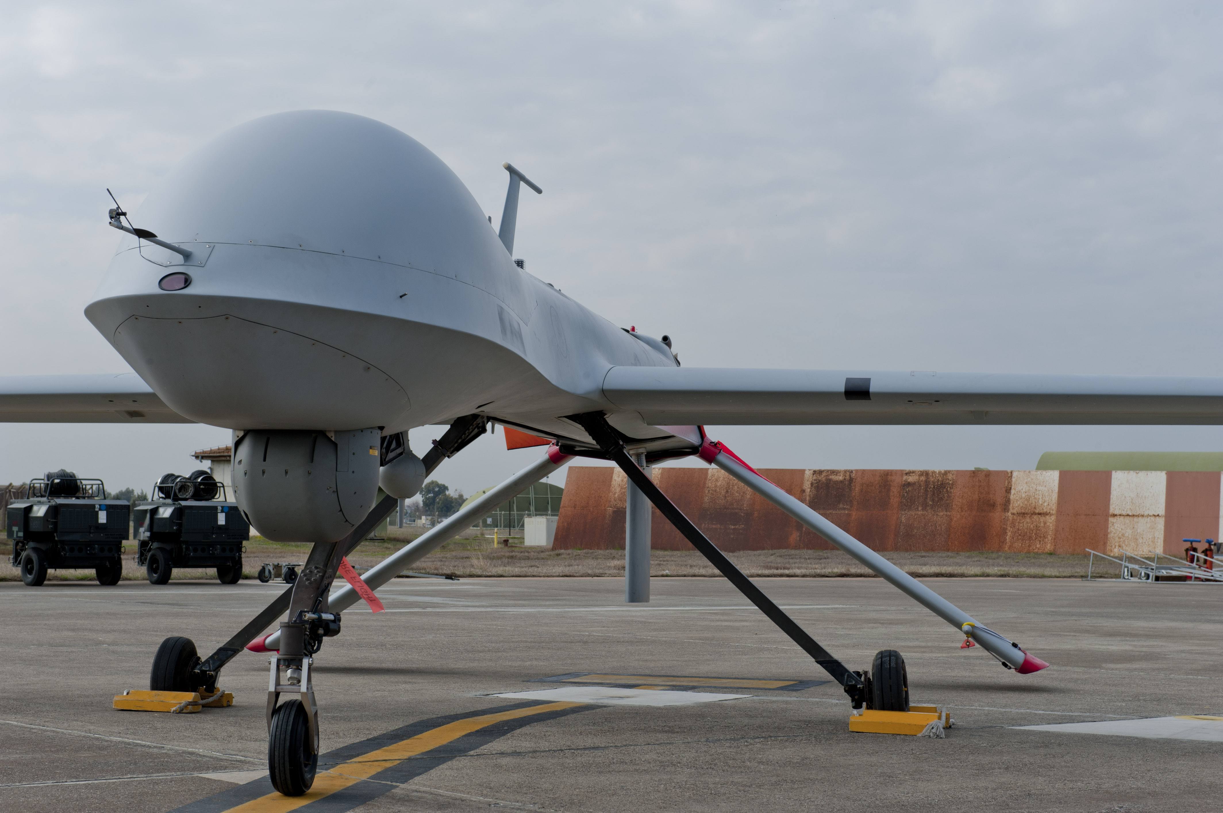 Frontex testing drone technology