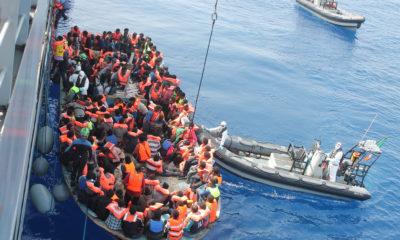 Mediterranean migrant crossings