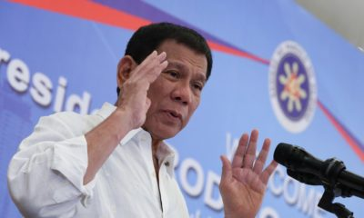 Duterte admits authorising extrajudicial killings