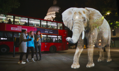 WWF deploys hologram elephant