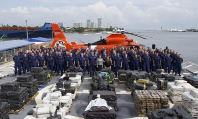US Coast Guard seizes 8.5 tons of cocaine