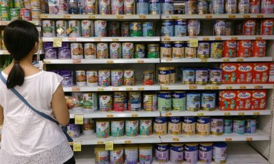 black market in infant formula milk