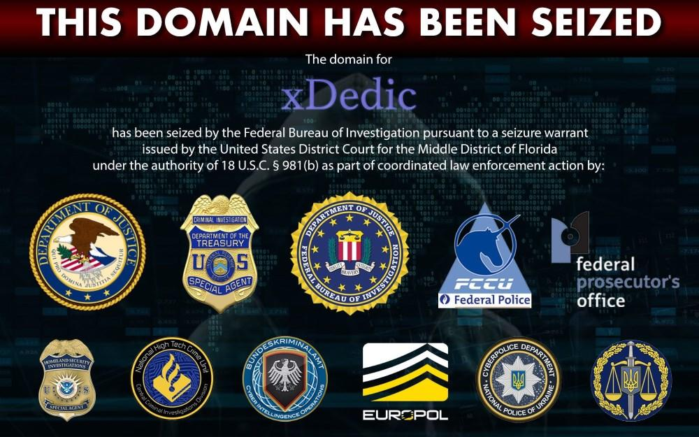 xDedic cyber crime marketplace