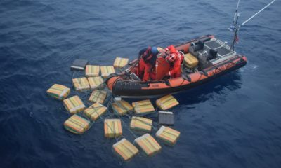 US Coast Guard boat offloads 16 tonnes of cocaine