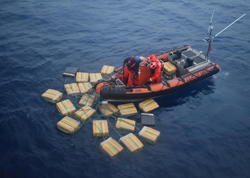 US Coast Guard boat offloads 16 tonnes of cocaine