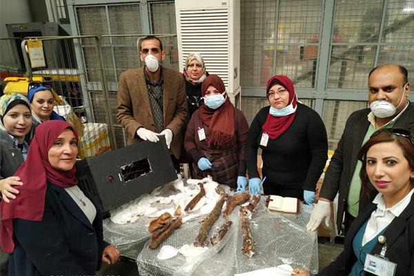 mummified human remains in