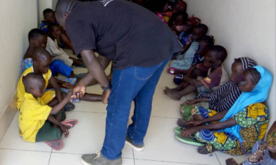 Interpol-led crackdown on human trafficking in West Africa