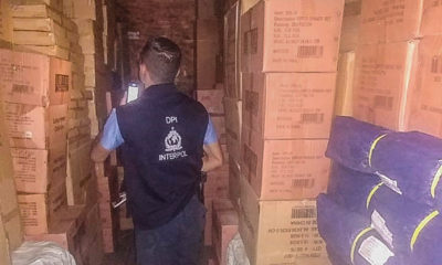 counterfeit and smuggled consumer goods worth $3.5 million