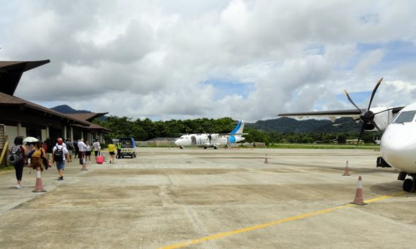 drug traffickers using private airstrips