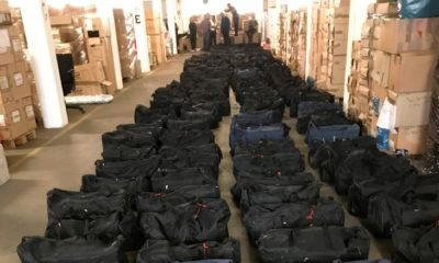 German officials seize record 4.5 tonnes of cocaine