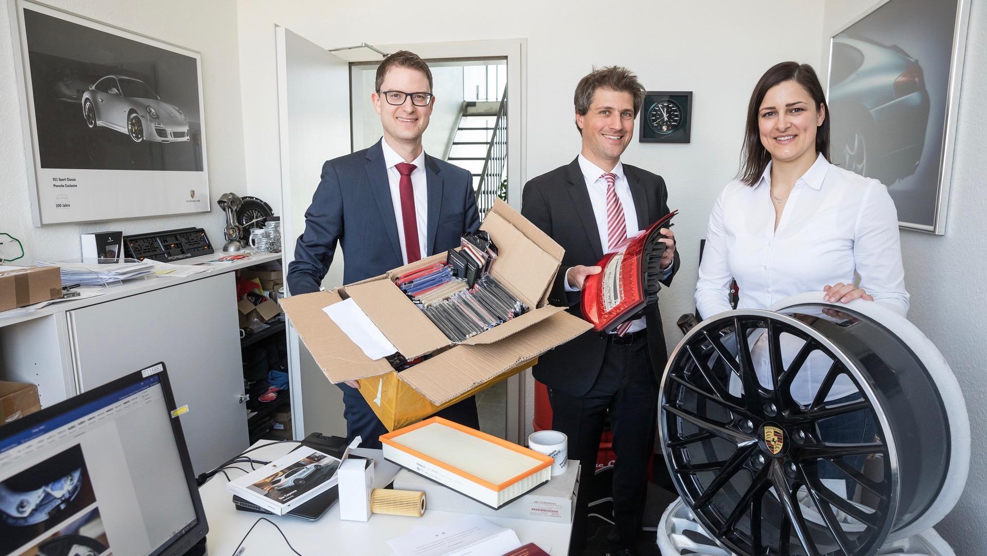 Porsche seizes 200,000 counterfeit items