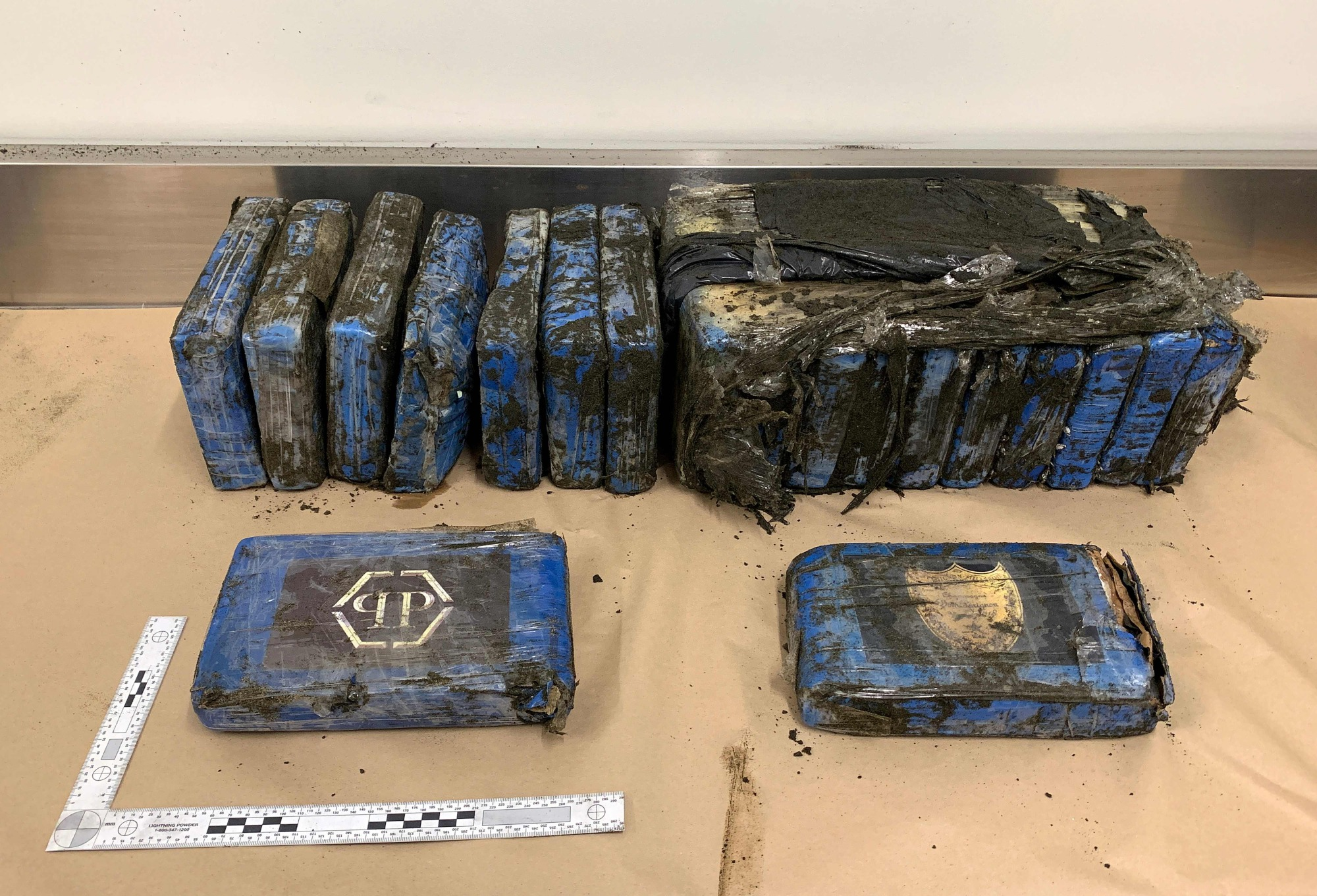 packages of cocaine worth NZ$3 million