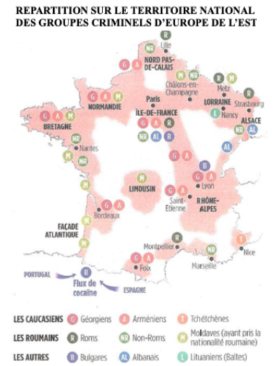 Répartition-groupes-criminels-Europe-Est-territoire-national