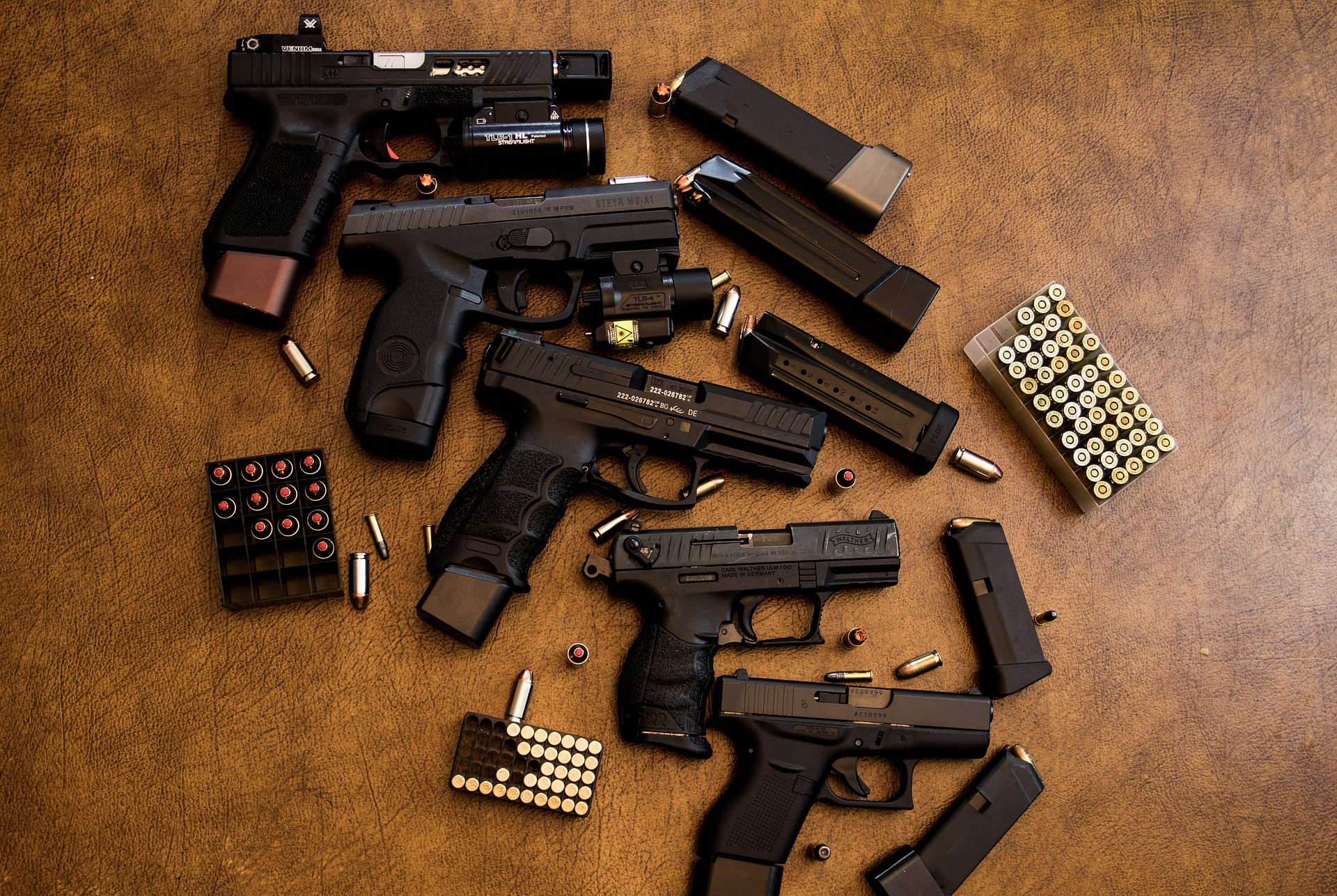 organised firearms trafficking