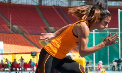 Dutch female Olympic sprinter jailed for more than eight years