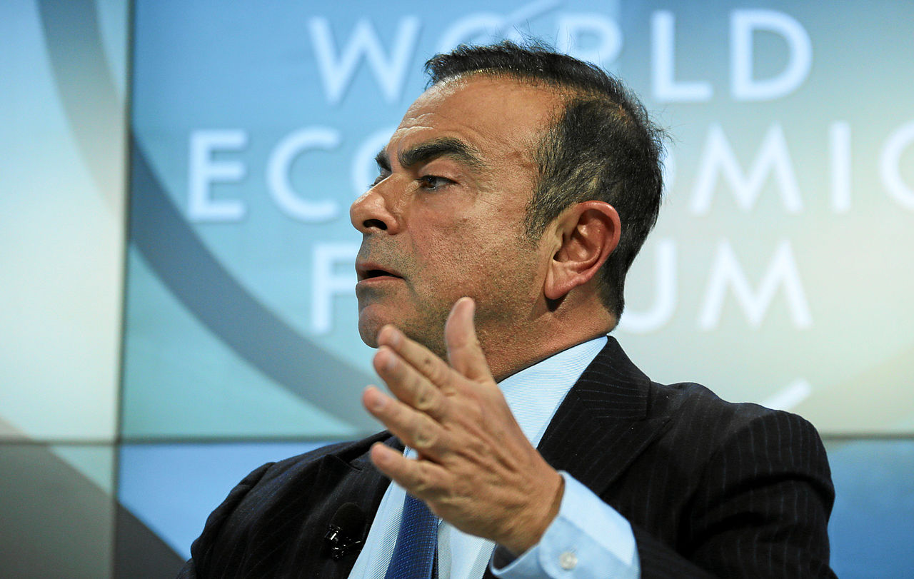 fugitive ex-Nissan boss Carlos Ghosn