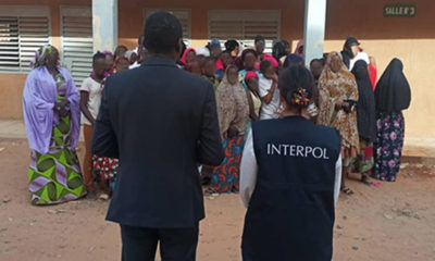 police in Niger rescue 232 victims of human trafficking and child sexual exploitation