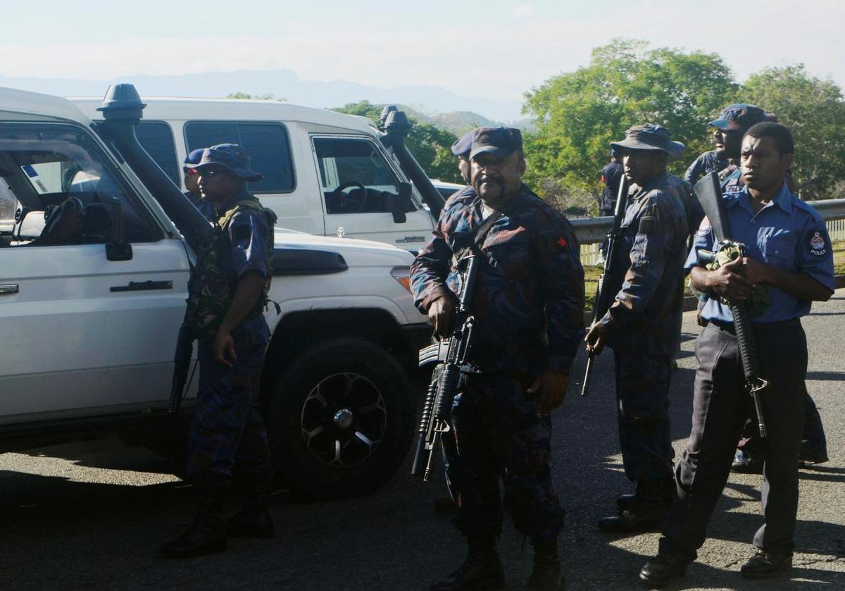 police de Papouasie
