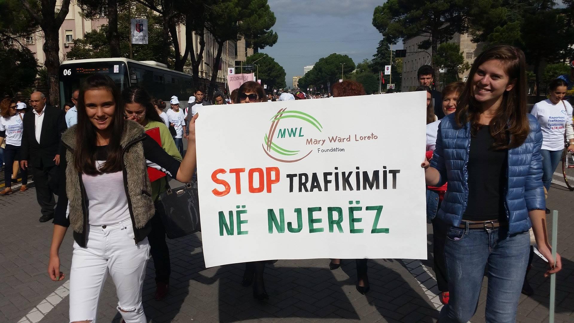 la traite en Albanie