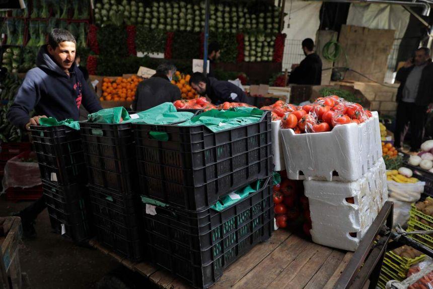 fruits et légumes libanais