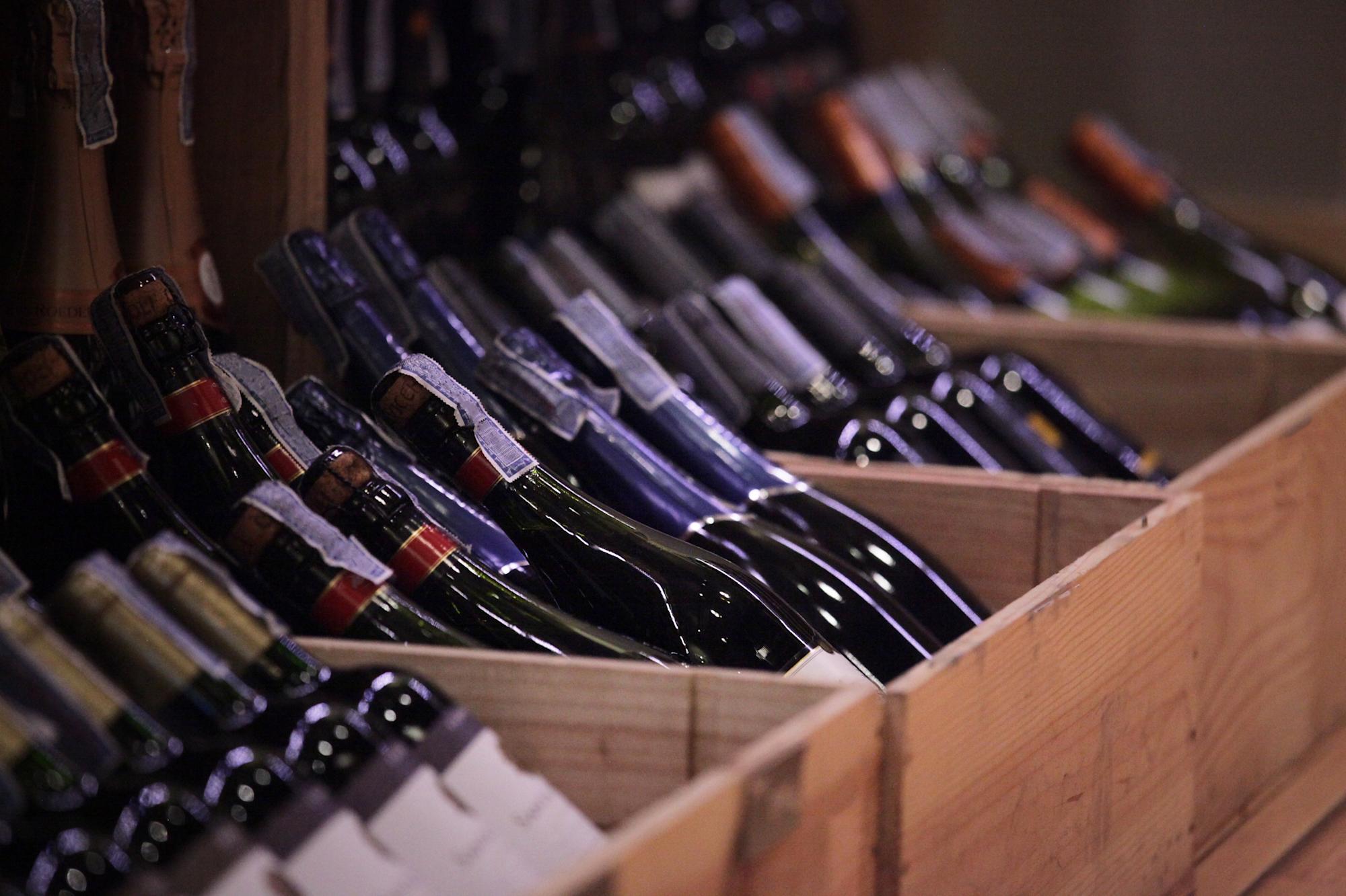 trafic de vin