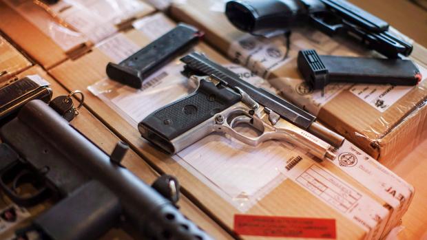 Trafic d'armes à Montréal