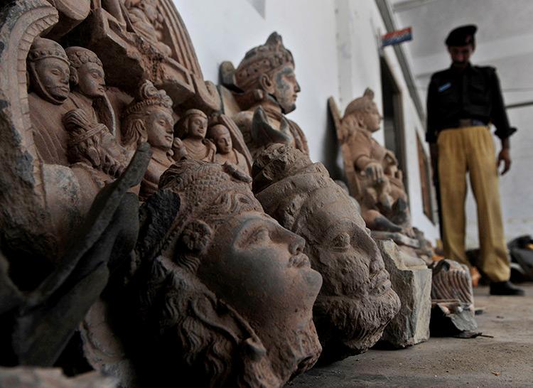 trafic d'antiquités